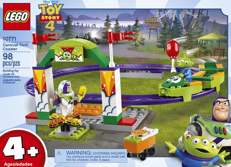 LEGO  Disney Toy Story 4 Carnival Thrill Coaster 10771