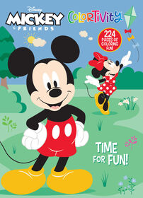 Mickey Minnie 224pg ColortivitY - English Edition