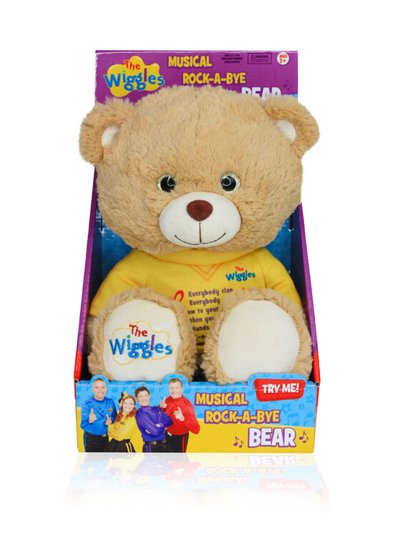 Wiggles Rock-a-Bye Bear - English Edition