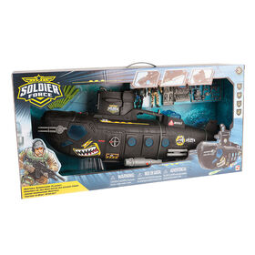 Soldier Force Deepsea Submarine Playset - R Exclusive