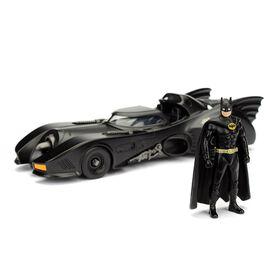 Metals Batman 1:24 1989 Batmobile W/Batman Figure