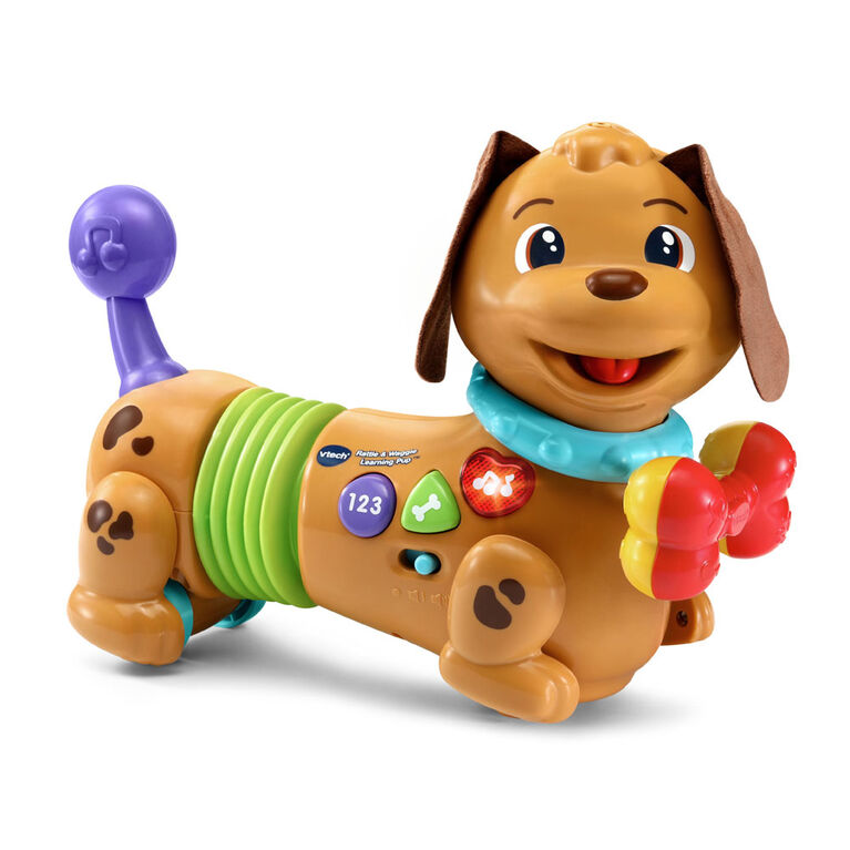 VTech Rattle & Waggle Learning Pup - English Edition