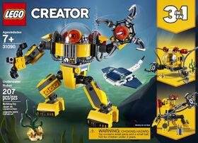 Le robot sous-marin LEGO Creator 31090