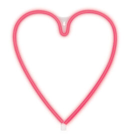 Brilliant Ideas HEART Neon LED Wall Light