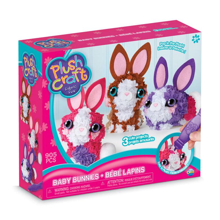PlushCraft 3D Mini Bunny Pack