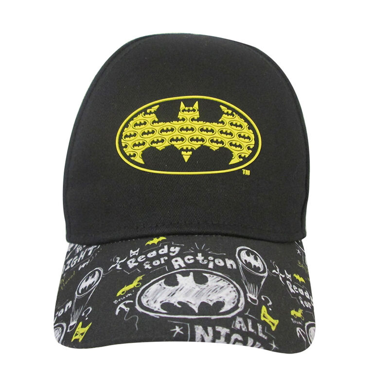 Warner Brothers - Baseball Cap - Batman, Black, 12-24M