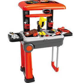 Ensemble d'outils portatif pour enfants 2-en-1 par Toy Chef.