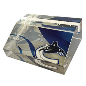 NHL Business Card Stand Vancouver Canucks