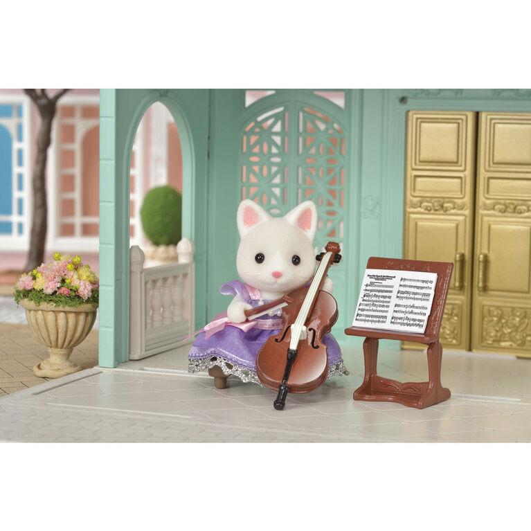 Calico Critters Town - Ensemble de violoncelle de concert.