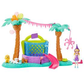 Polly Pocket Bounce & Bark Puppy Park Playset