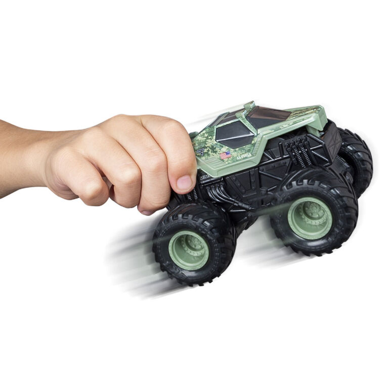Monster Jam, Official Soldier Fortune Rev 'N Roar Monster Truck, 1:43 Scale