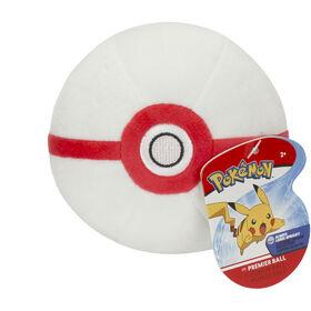 "Pokémon 4"" Pokeball Plush - Great Ball"