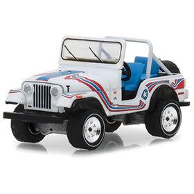 1:64 All-Terrain Series 7 - 1976 Jeep CJ-5 Bicentennial Edition