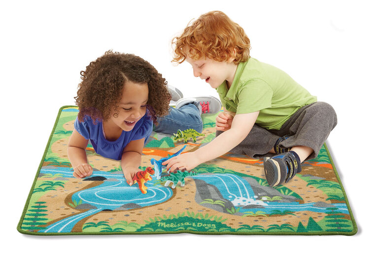 Prehistoric Playground Dinosaur Rug