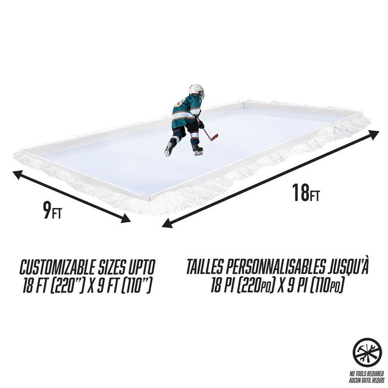 patinoire arrière-cour suprême personnalisable