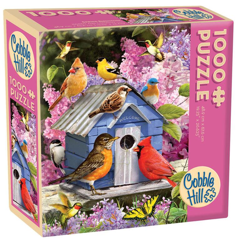 Spring Birdhouse 1000 Piece Puzzle