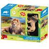 Animal Planet: African Lion – 100 Piece 3D Puzzle with Figure
