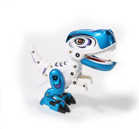 Braha- Rex - Die Cast Interactive Dino-Blue