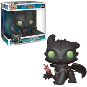Funko POP! Movies: How To Train Your Dragon 3 - Toothless 10' Vinyl Figure - R Exclusive
