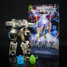 Transformers Collaborative Ghostbusters: Afterlife, Ecto-1 Ectotron Converting Figure - R Exclusive