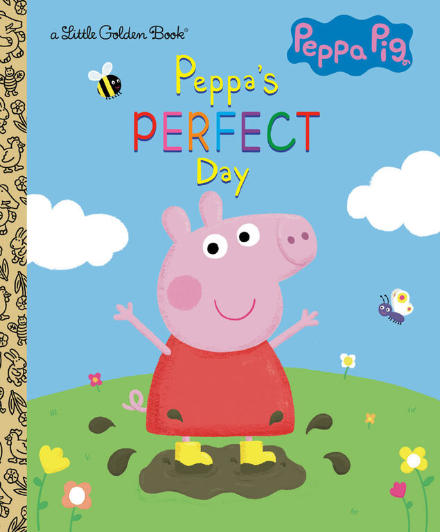 Peppa's Perfect Day (Peppa Pig) - Édition anglaise