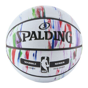 Spalding NBA Marble Series Multi-color Outdoor Basketball