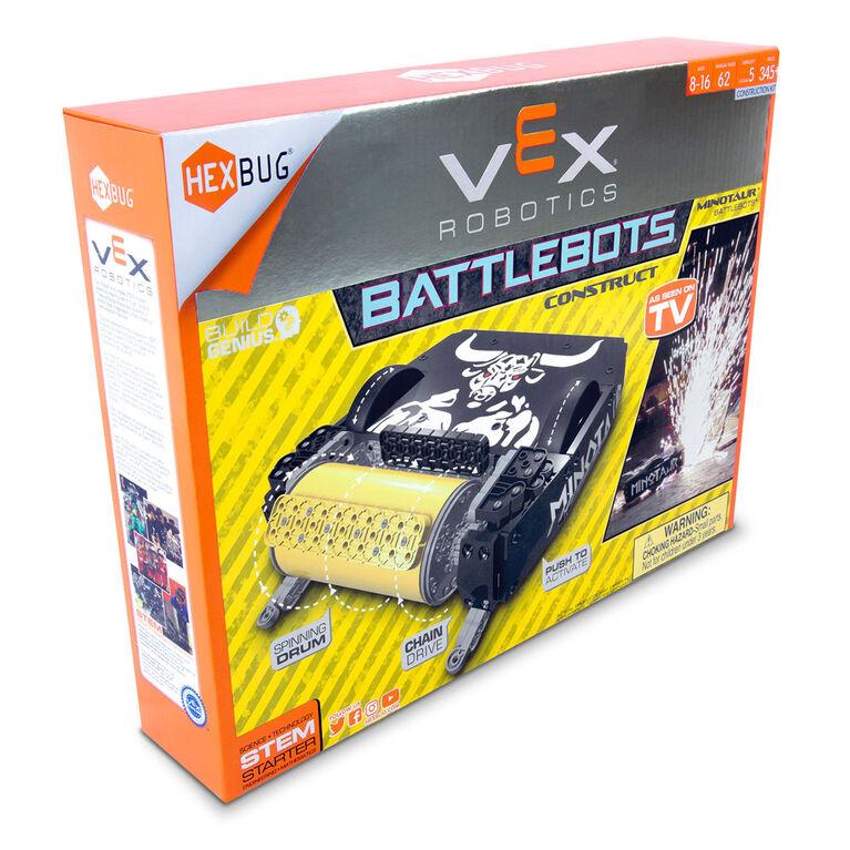 BattleBots VEX Robotics de HEXBUG - Minotaure