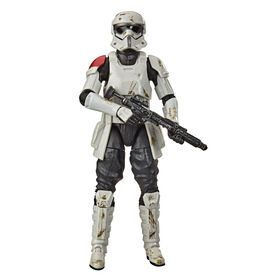 Star Wars The Black Series, figurine de collection Mountain Trooper de 15 cm, Star Wars Galaxy's Edge - Notre exclusivité