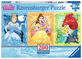 Ravensburger - Jolies princesses Disney casse-têtes 200pc