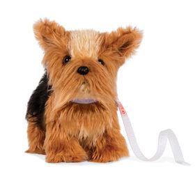 Chiot Yorkshire Terrier, Our Generation, Chien en peluche avec pattes articulées