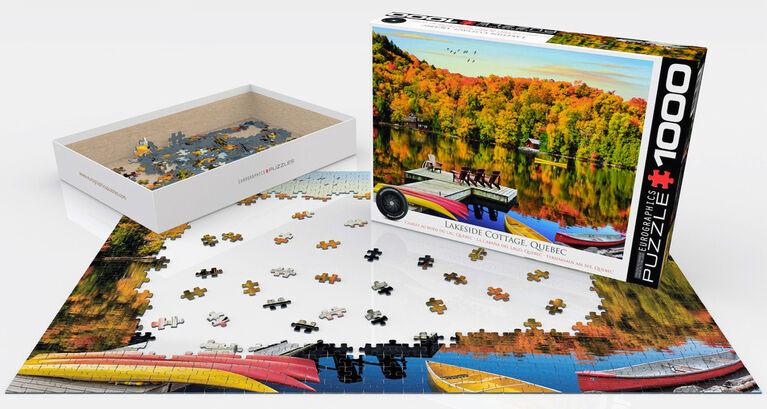 Eurographics HDR Destination Quebec Photo 1000 Piece Puzzles