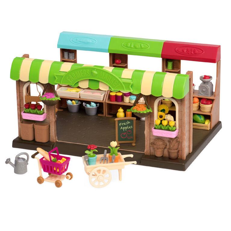 Li'l Woodzeez, Hoppin' Farmers Market with Play Food