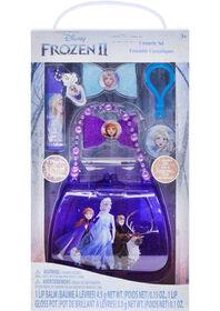 Frozen II Cosmetic Set with Beaded Bag