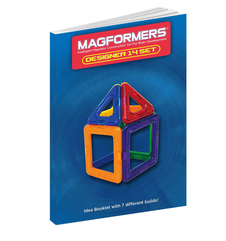 Magformers Designer 14 piece Set - English Edition