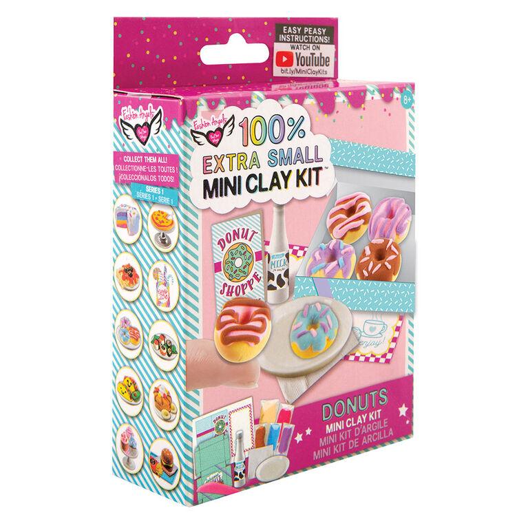 Fashion Angels - 100% Extra Small Donuts Mini Clay Kit