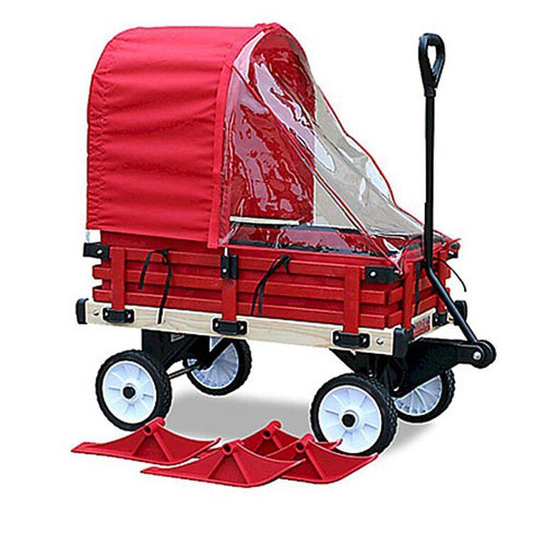 Millside - Traineau-chariot convertible avec coussinets et pare-soleil
