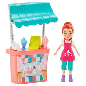 Polly Pocket Ice Cream Stand Style Lila