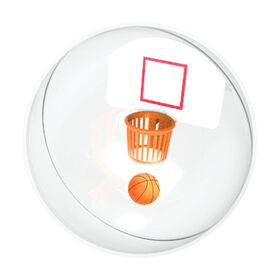 Travel Game Hoops Ball