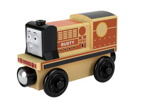 Fisher-Price Thomas & Friends Wood Rusty Diesel Engine