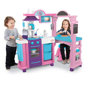 Little Tikes - Kitchen & Restaurant - Pink - R Exclusive