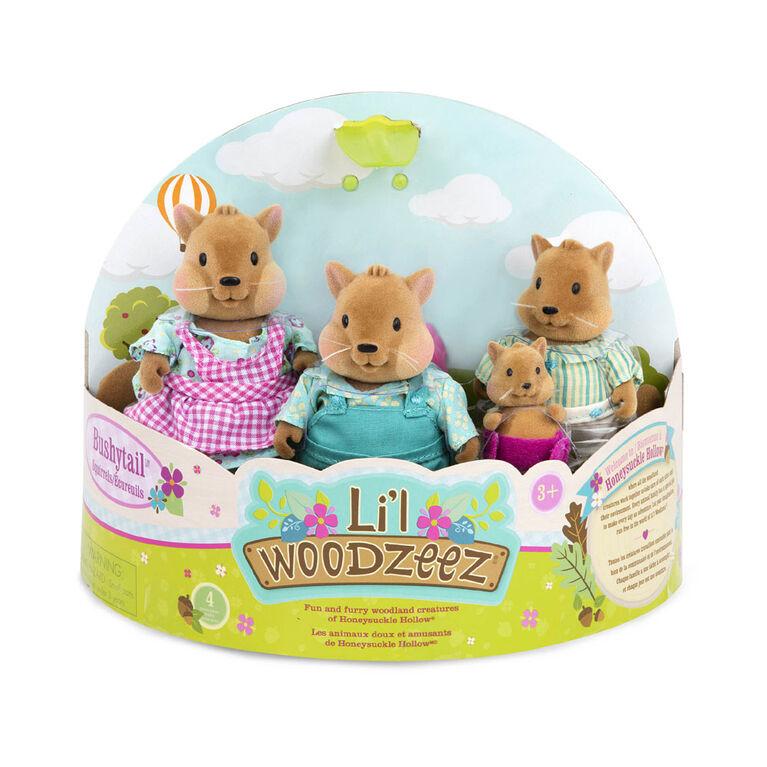Li'l Woodzeez, Bushytail Squirrels
