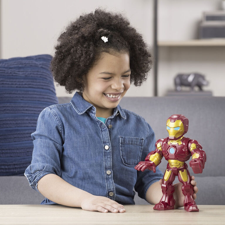 Playskool Heroes Marvel Super Hero Adventures Mega Mighties - Figurine Iron Man
