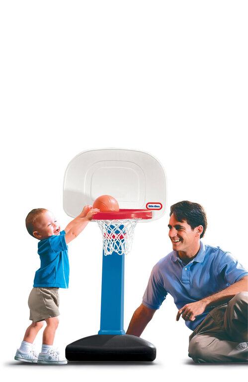 Little Tikes - Tot Sports - Easy Score Basketball Set - Round Backboard