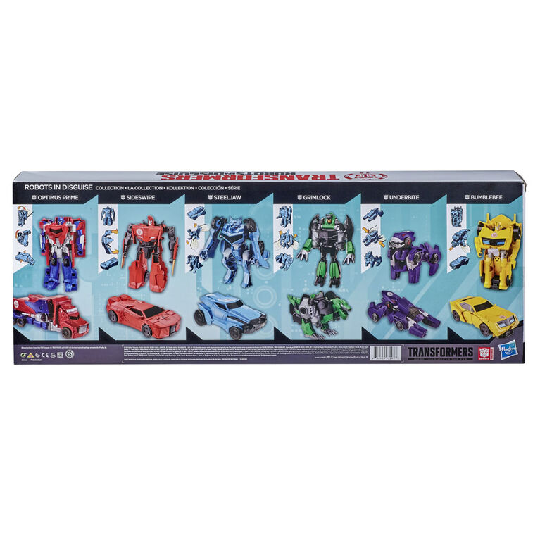 Transformers Robots in Disguise One Step Collection 6-Pack Action Figures - R Exclusive