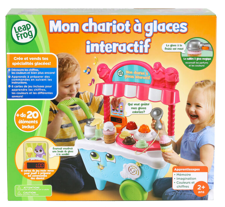LeapFrog Mon chariot à glaces interactif - Édition française