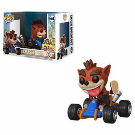 Funko POP Ride! Animations: Crash Team Racing - Crash Bandicoot Vinyl Figure