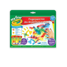 Crayola - My First Crayola Fingerpaint Kit