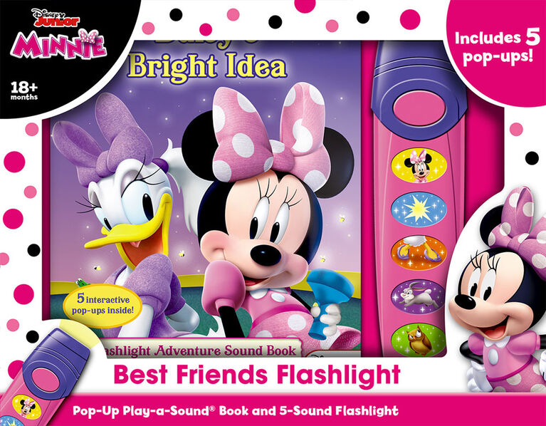 Petit Livre D'Aventure Avec Lampe De Poche De Minnie - Édition anglaise