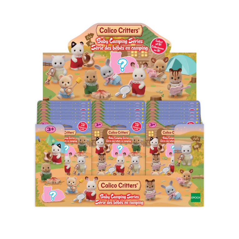 Calico Critters Baby Camping Series