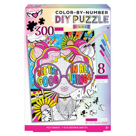 Color-By-Number DIY Puzzle